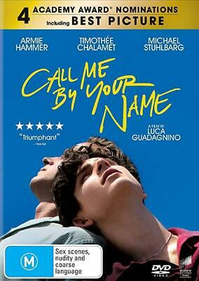 AU18 • Buy Call Me By Your Name (DVD)