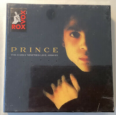 PRINCE - The Early Nineties Live, 1990-93. New 5CD Box Set + Sealed. **NEW** • 18£
