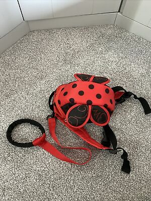 Toddler Ladybird Backpack Safety Harness / Reins  • 3£