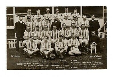 Brighton & Hove Albion Fc Football Team Photo Rp Postcard 1912/13 Pannell  • 9.99£