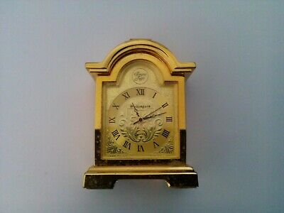 Miniature Brass Quartz Carriage Clock • 2.99£