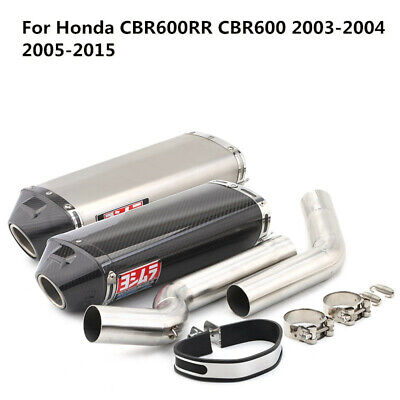 $345 • Buy Motorcycle Exhaust System Mid Link Pipe For Honda CBR600RR CBR600 2003-04 05-15