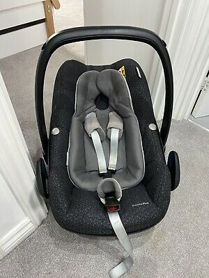 Maxi Cosi Pebble Plus Car Seat Age 0-12 Months - Includes Official Rain Cover • 10£