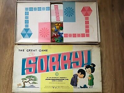 SORRY - The Great Family Board Game By WADDINGTONS - Vintage Japanese Version • 10£