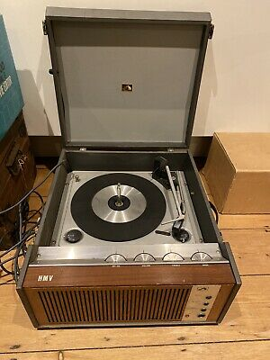 HMV 2030 Vintage Portable Record Player From 1960s, Not Working • 10.50£