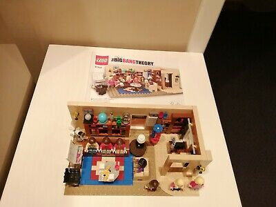 Big Bang Theory Lego Set 21302 Complete With Box & Instructions • 70£
