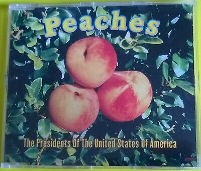 THE PRESIDENTS OF THE UNITED STATES OF AMERICA - PEACHES 4 Track, CD Single 1996 • 0.99£