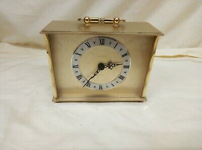 Tempora Quartz Vintage Brass Carriage Clock • 12£