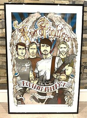 Foo Fighters Concert Poster Kaiser Chiefs Rod Laver Arena Melbourne 2005 • 9.99£