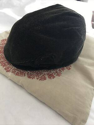 Cord Flat Cap  Peaky Blinders Style Marks And Spencers Medium 7-7 1/8 • 3.20£