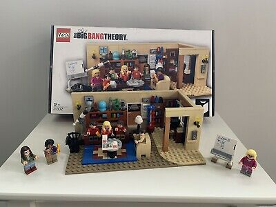 Big Bang Theory Lego Set 21302 100% Complete With Box & Instructions • 52£