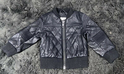 Baby Boy - Faux Leather Jacket / Coat - 9-12 Months - River Island • 0.99£