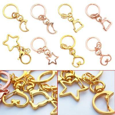 5 Pcs High Quality Key Chains Jewelry Making DIY Accessories Parts Bag Charms  • 3.16£