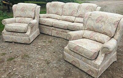 G PLAN THREE PIECE SUITE 3 Seater Sofa Excellent Used Condition • 90£
