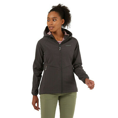 Craghoppers Womens Kalti Weatherproof Hooded Jacket Top Black Sports Outdoors • 67.99£