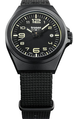 £195.76 • Buy Traser H3 P59 Classic Essential S Black Tactical Watch Militär Armbanduhr Nato A