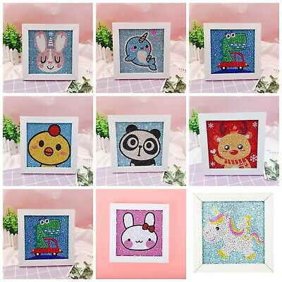 AU12.79 • Buy DIY 5D Cartoon Easy Diamond Painting For Children Paint By Numbers For Kids Fun