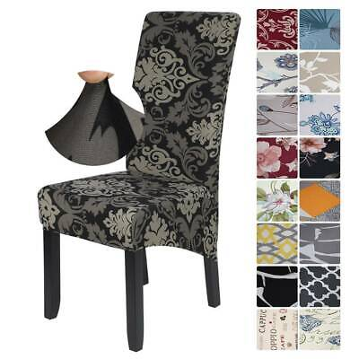 NEW Stretch Dining Chair Covers Removable Protective Slipcover High Back • 4.59£