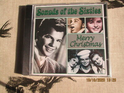 Time Life Cd Sounds Of The Sixties Merry Christmas  New Sealed Rare Copy. • 35£