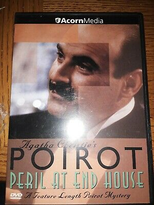 Poirot - Peril At End House - DVD - GOOD • 5.91£