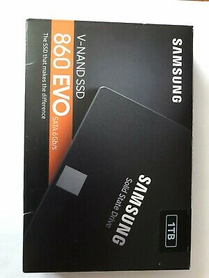 Samsung 860 EVO 1TB 2.5 Internal SSD • 89.50£