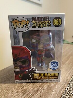 Zombie Magneto Funko Pop Vinyl #66 Marvel Zombies Funko Shop Exclusive X-Men • 32£