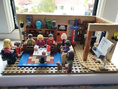 The Big Bang Theory Lego Set 21302 Retired - Complete With Instructions - Rare • 31£
