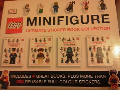 Packs Of Reusable Stickers.2 X Lego & 1 X Moshi Monsters Ultimate Sticker Books • 18£