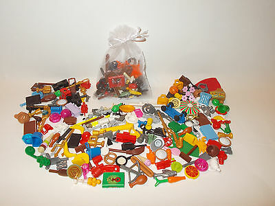 £2.99 • Buy Lego 10pce Minifigure Accessories Pack Random Mix Of Hats Tools Etc GREAT GIFT!
