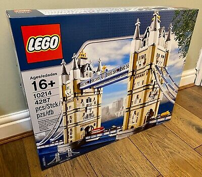 LEGO CREATOR EXPERT 10214 Tower Bridge - BRAND NEW SEALED - UK FREE COURIER • 349.99£