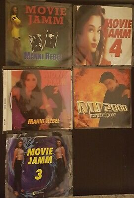 Bollywood HindiRemix Copies Only Movie Jamm ManniRebel 1 To 5 And Millenium 2000 • 25£
