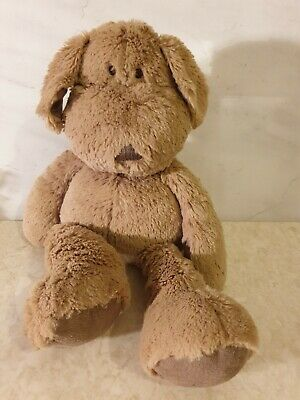 Mamas & Papas Brown Dog Soft Toy 16  Pumpkin Puppy Once Upon A Time Plush Dog 🐕 • 10£