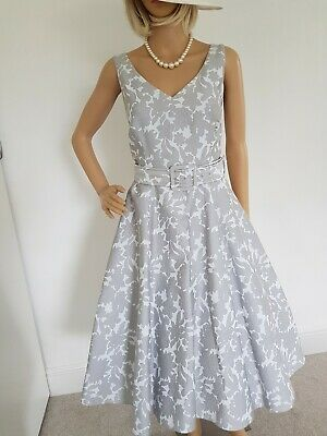 Phase Eight Gorgeous Fit&flare 50s Dress Size 12 Worn Once Immaculate  • 24.99£