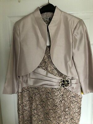 Ladies Dress And Jacket Size 18 BNWT • 45£