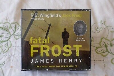 R.D.Wingfield - Fatal Frost CD Audio Book, Read By David Jason • 6.45£