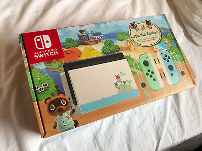 AU549 • Buy Nintendo Switch Animal Crossing Special Edition Console Brand New AUS