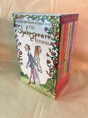 Shakespeare Stories 16 Books Children Collection Paperback By Andrew Matthews • 8£