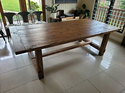 AU151 • Buy Timber Dining Table (large) - Winslow 2500
