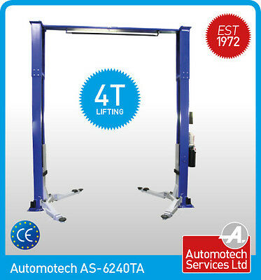 2 Post Lift  / Car  Vehicle Ramp / Hoist 4 Ton 4000kg Baseless / Clear Floor,  • 1,558.80£