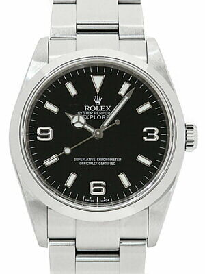 $ CDN9930.54 • Buy ROLEX Explorer I 114270 F Number '04 Made Men's Automatic Winding Watch Used