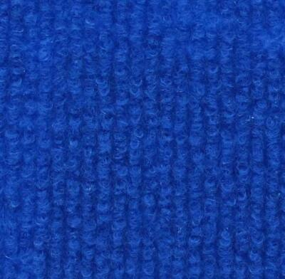 £30.50 • Buy CORD Electric Blue | Quality Carpet Recyclable Ideal Temporary Rib Flooring