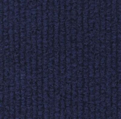 £30.50 • Buy CORD Marine | Navy Blue Quality Rib Carpet Recyclable Ideal Temporary Flooring