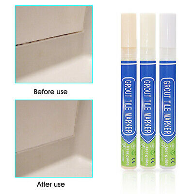Non Toxic Grout Pen Anti Mould Waterproof Tile Repair Instant Renew Wall Refill • 4.79£