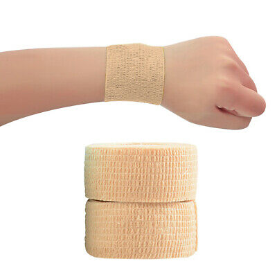 2.5cm X 4m Tape Sports First Aid Strapping Self  Finger Wrap EAB Fabric • 4.42£