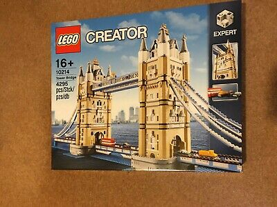 LEGO Creator Expert Tower Bridge (10214) NEW FACTORY SEALED London • 240£