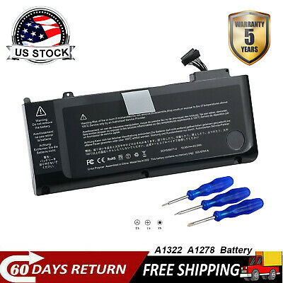 $16.14 • Buy A1322 Battery For Apple MacBook Pro 13  A1278 Mid 2009 2010 2011 2012 MB991CH/A
