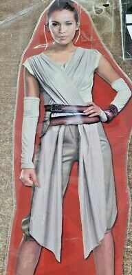£28.99 • Buy Ladies Rey Costume Star Wars The Last Jedi Adult Fancy Dress Outfit Size 12-14