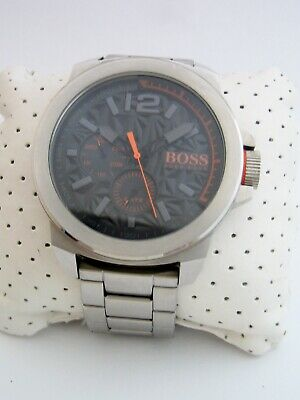 Hugo Boss Orange Mens New York Watch 1513406 Stainless Steel Bracelet Genuine • 39.99£