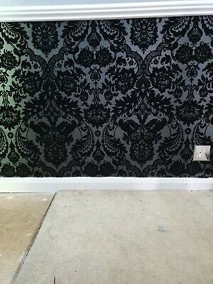 Black Damask Wallpaper  • 25£