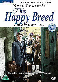 This Happy Breed. Special Edition. British 2 Disc DVD Set Booklet. Region 2 • 7.48£